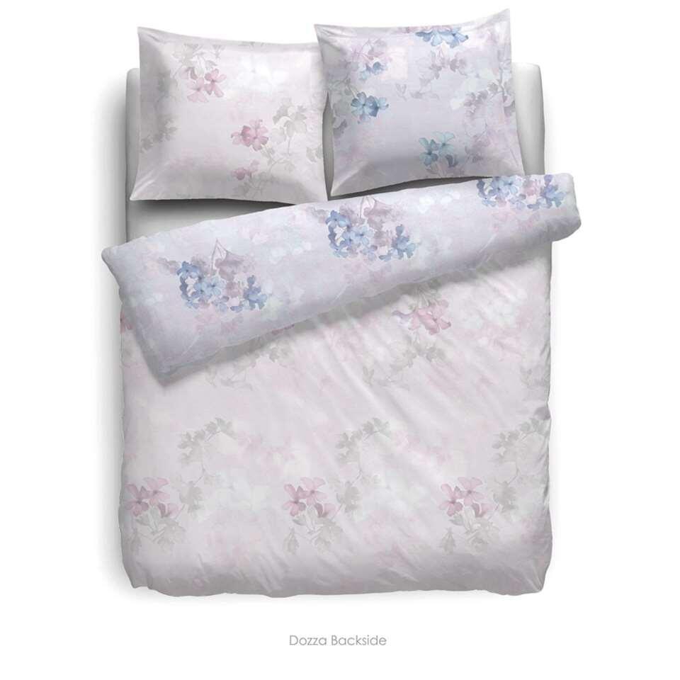 Heckett & Lane dekbedovertrek Dozza - roze - 240x220 cm - Leen Bakker