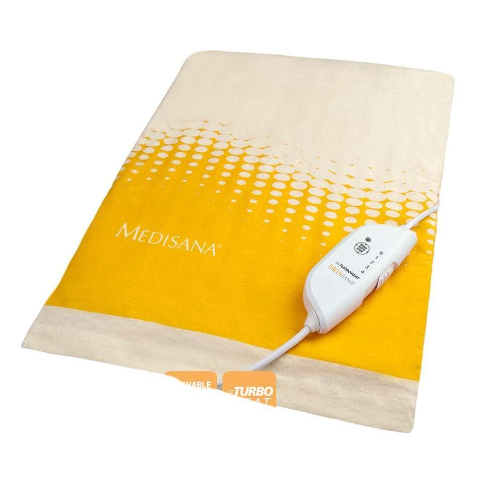Medisana warmtekussen HP 605 - wit/geel - 40x33 cm - Leen Bakker