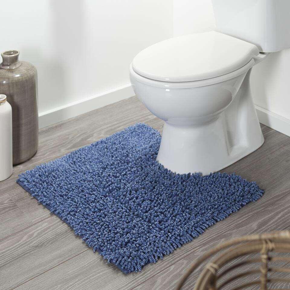 Wc Mat Lichtblauw.Sealskin Toiletmat Misto Blauw 55x60 Cm