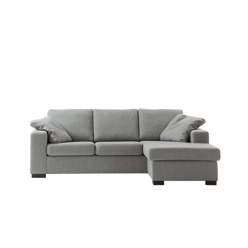 Comfortabele Grijze Hoekbank.Hoekbank Ottowa Grijs