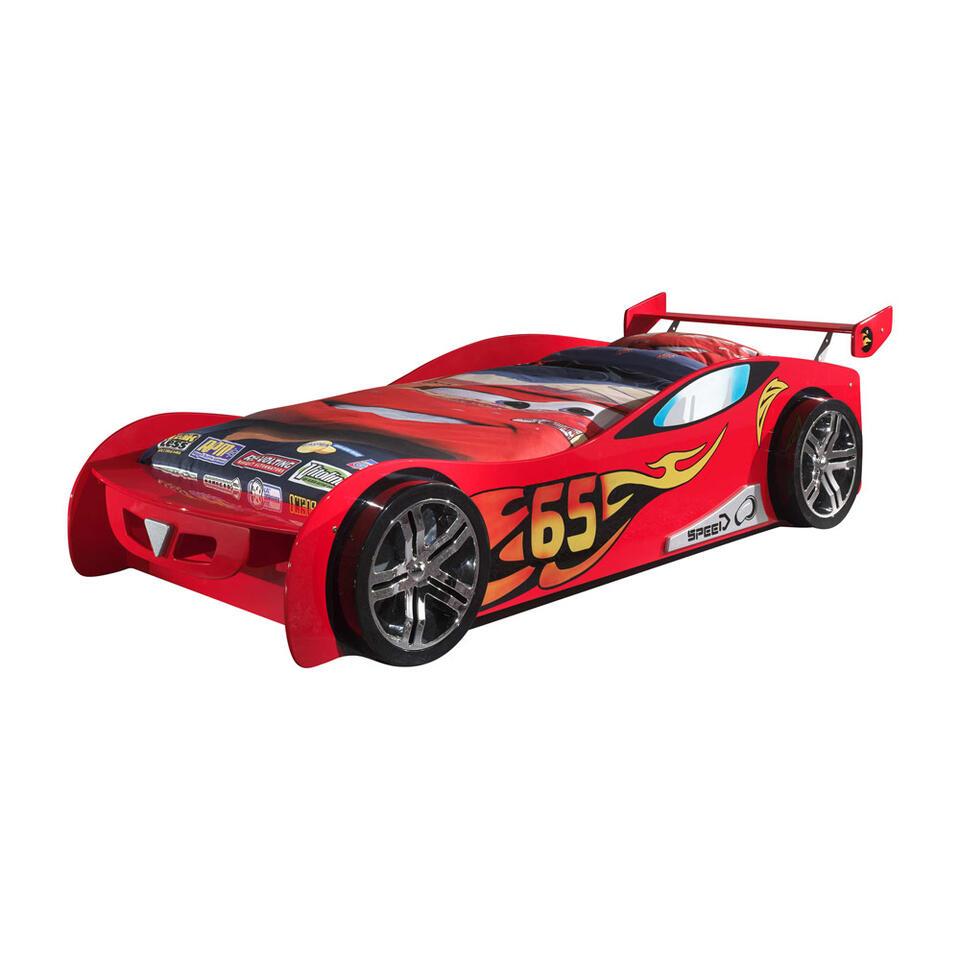 Vipack autobed Le Mans - rood - Leen Bakker