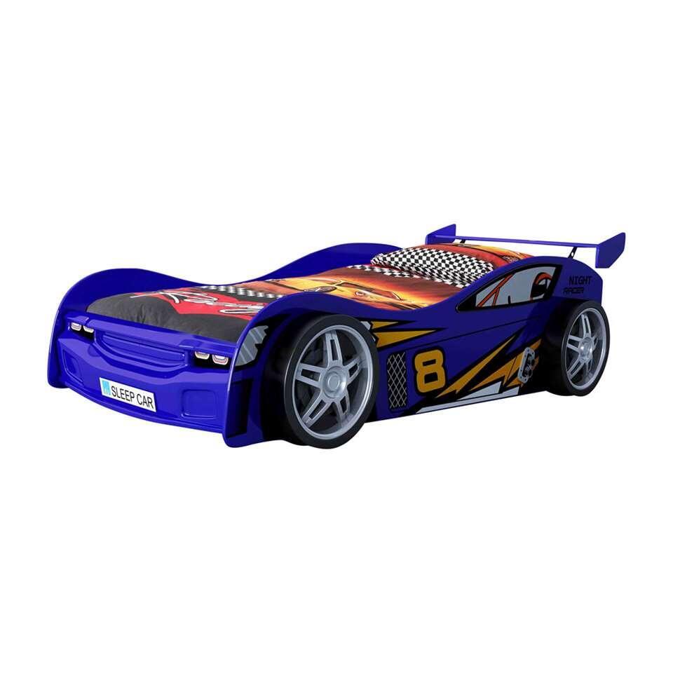 Vipack autobed Night Racer - blauw - Leen Bakker