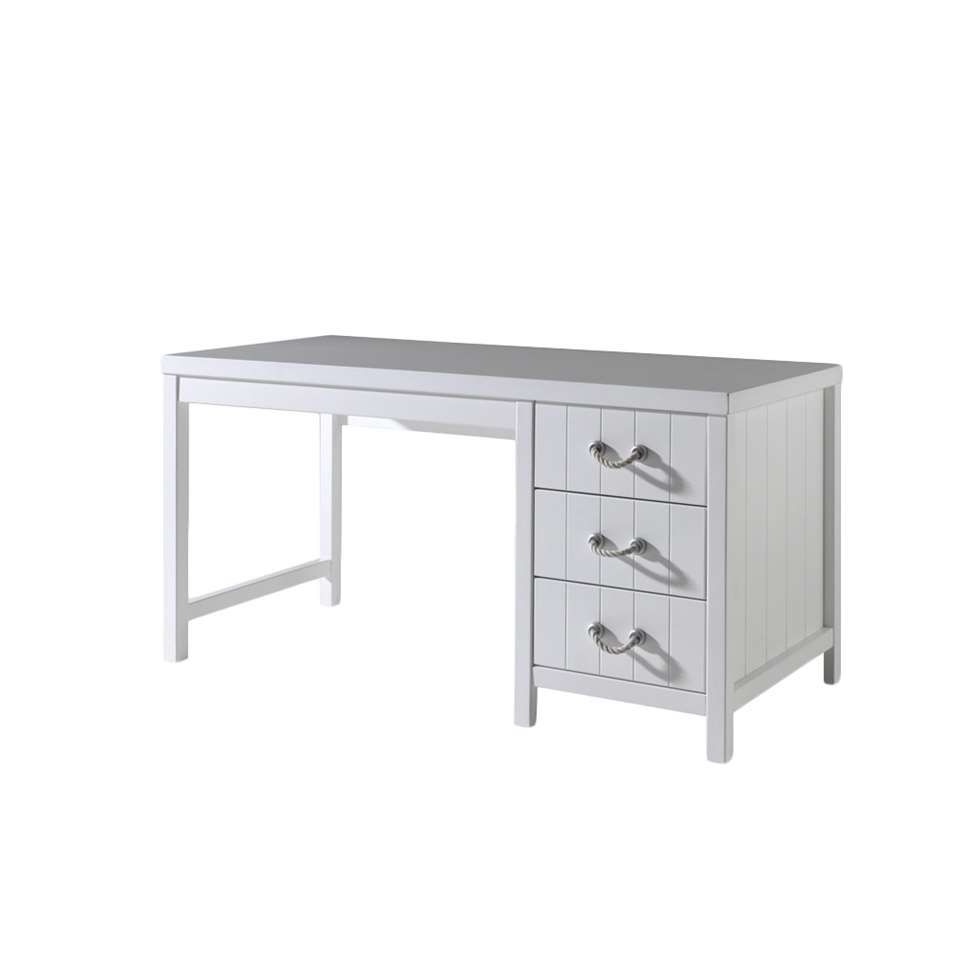 Vipack bureau Lewis - wit - 75x150x70 cm - Leen Bakker