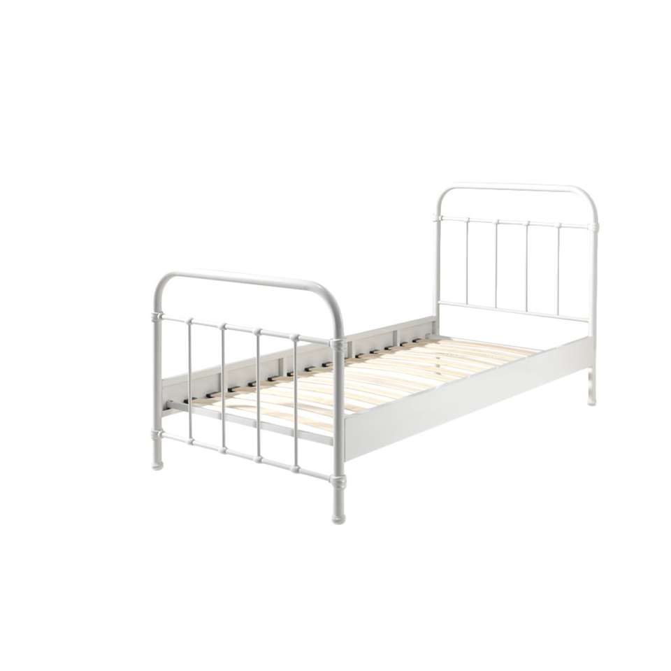 Wit Bed Meisje.Vipack Bed New York Wit 90x200 Cm