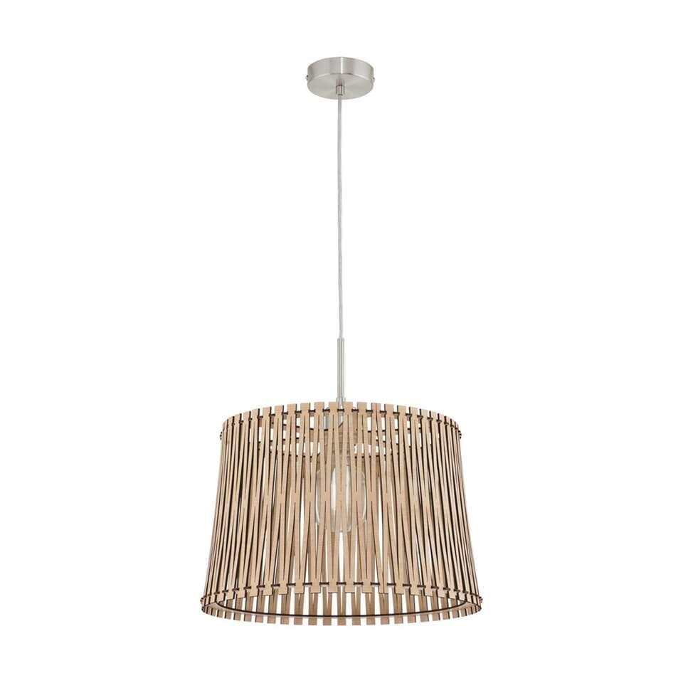 EGLO hanglamp Sendero - ahorn - Ø38 cm - Leen Bakker