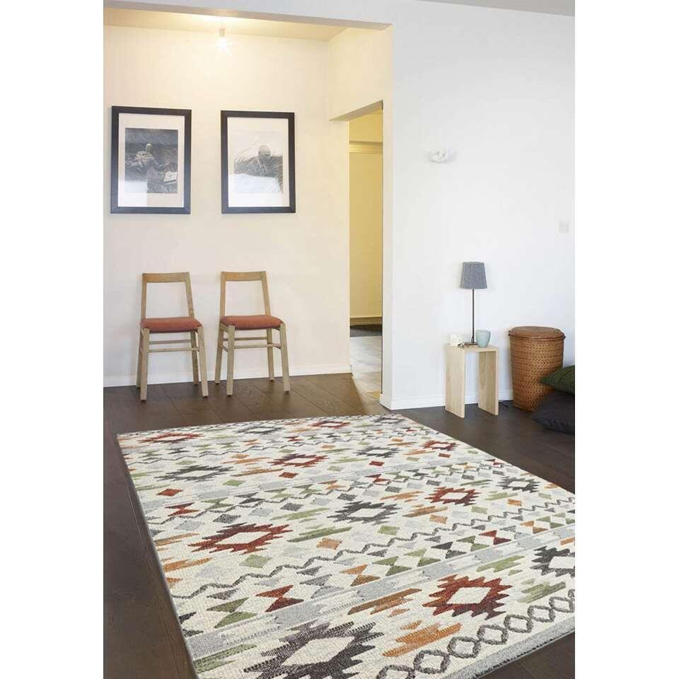 Vloerkleed Bogota - multikleur - 80x150 cm - Leen Bakker