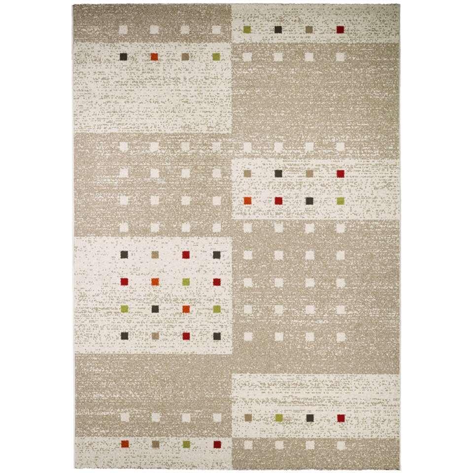 Vloerkleed Stutton - beige - 120x170 cm - Leen Bakker