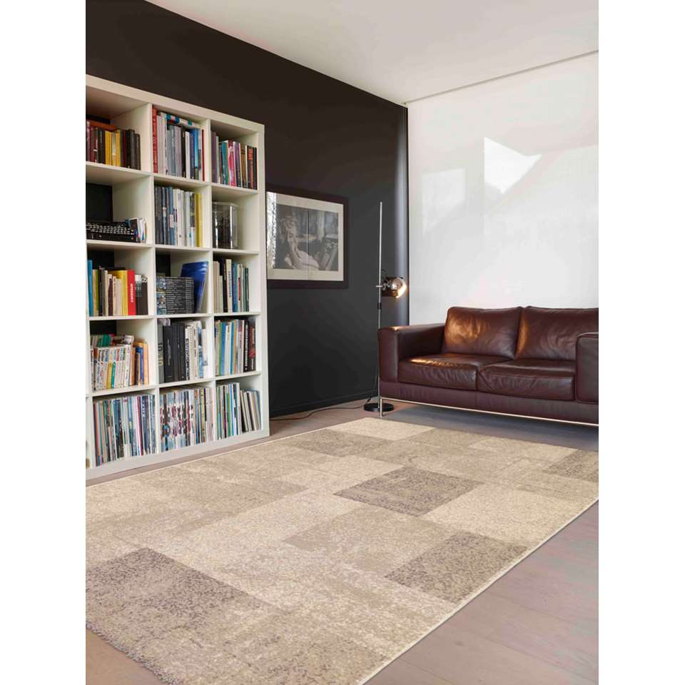 Vloerkleed Millow - beige - 120x170 cm - Leen Bakker