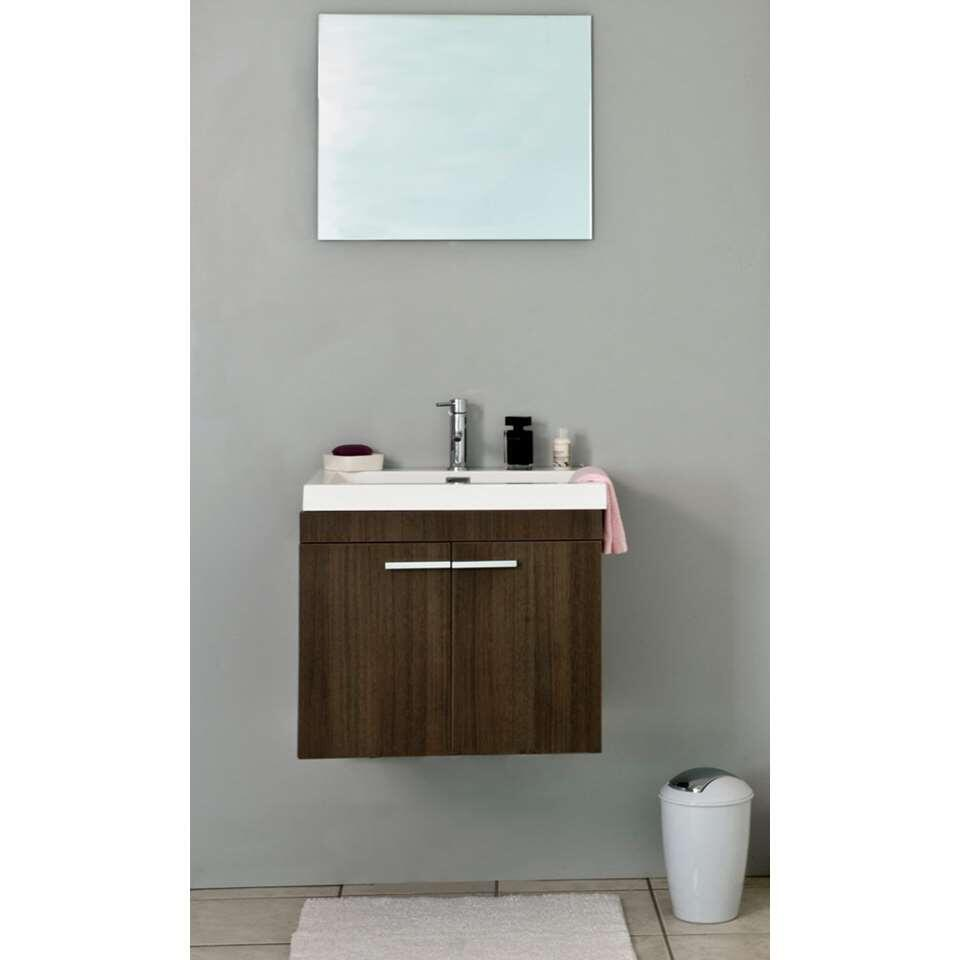Differnz badkamermeubel Flow - grijs eiken - 60 cm - Leen Bakker