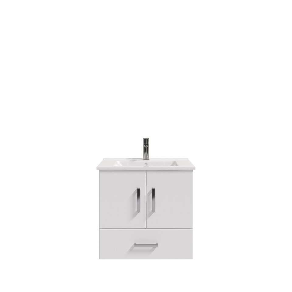 Bruynzeel badmeubel Omni - hoogglans wit - 65 cm - Leen Bakker
