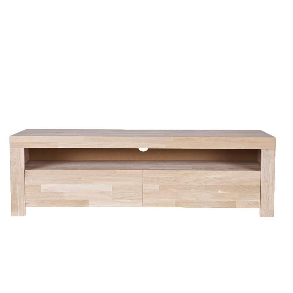 Woood TV-meubel Mats - eiken - 46x150x44 cm - Leen Bakker