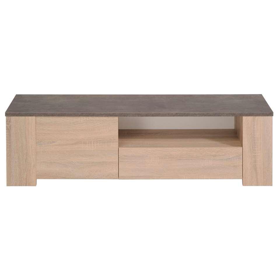 TV-meubel Jackson - eiken - 138x41x40 cm - Leen Bakker