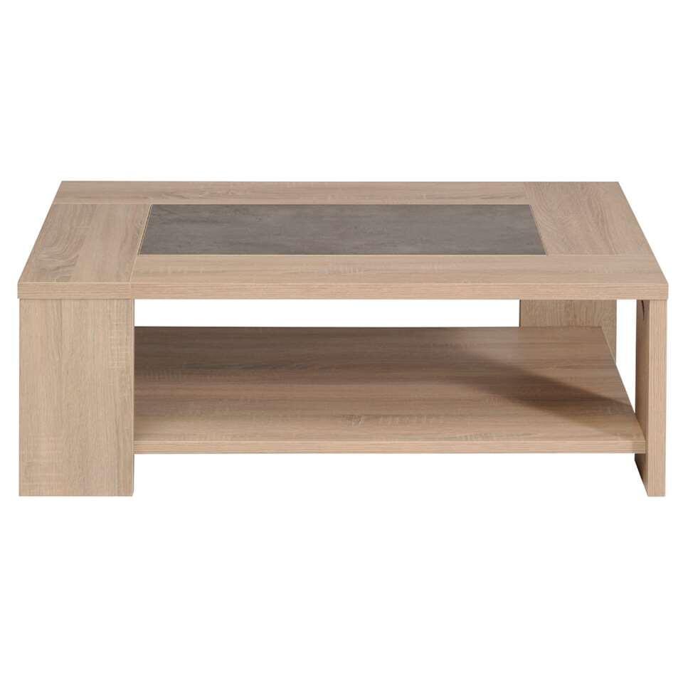 Salontafel Jackson - eiken - 105x37x73 cm - Leen Bakker