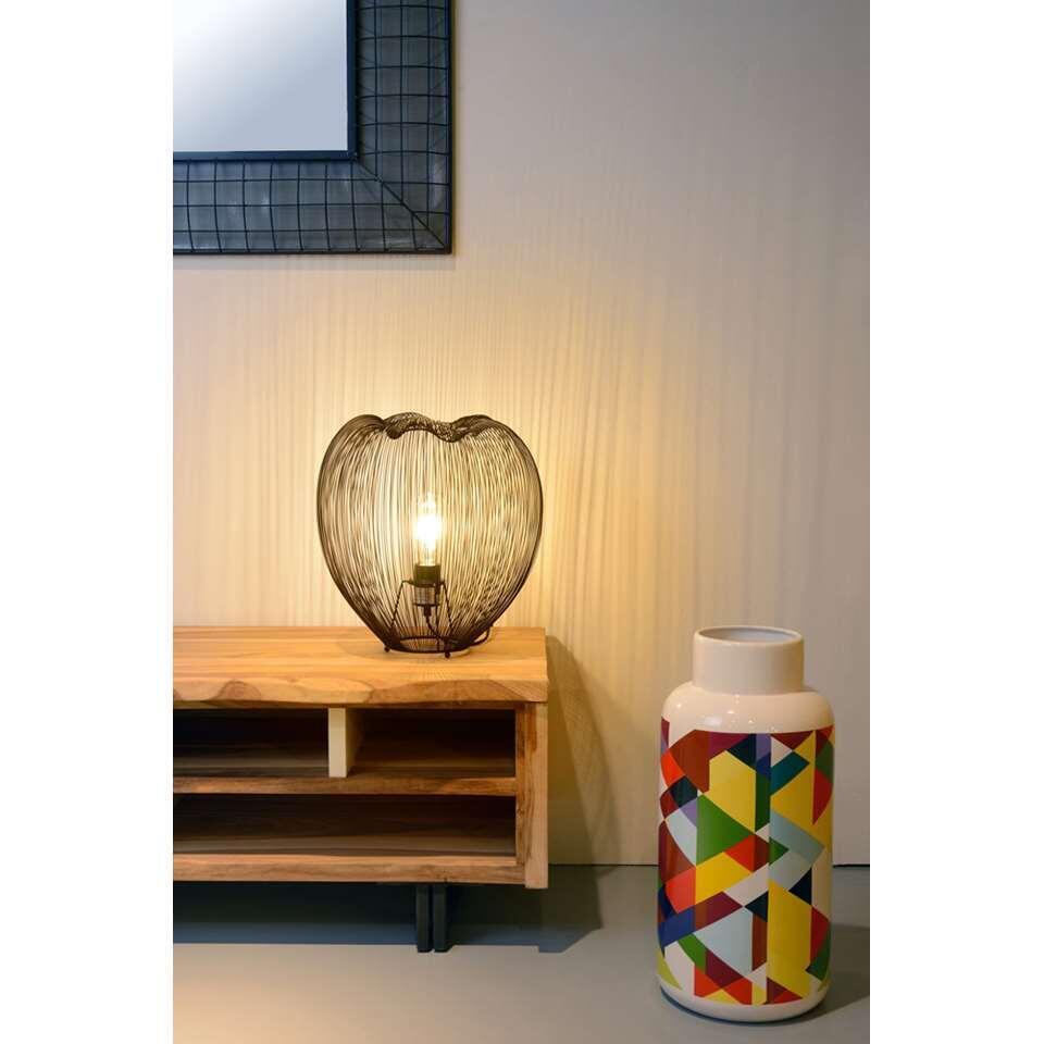 Lucide tafellamp Wirio – zwart – Leen Bakker