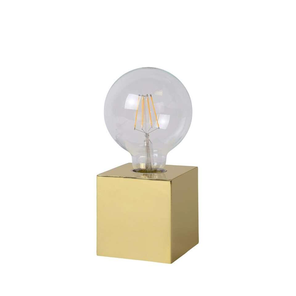Lucide tafellamp Cubico - goud
