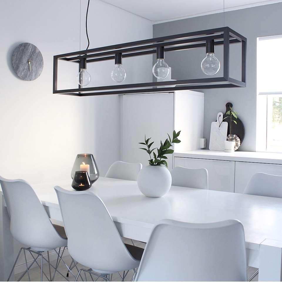 Lucide hanglamp Oris - donkergrijs