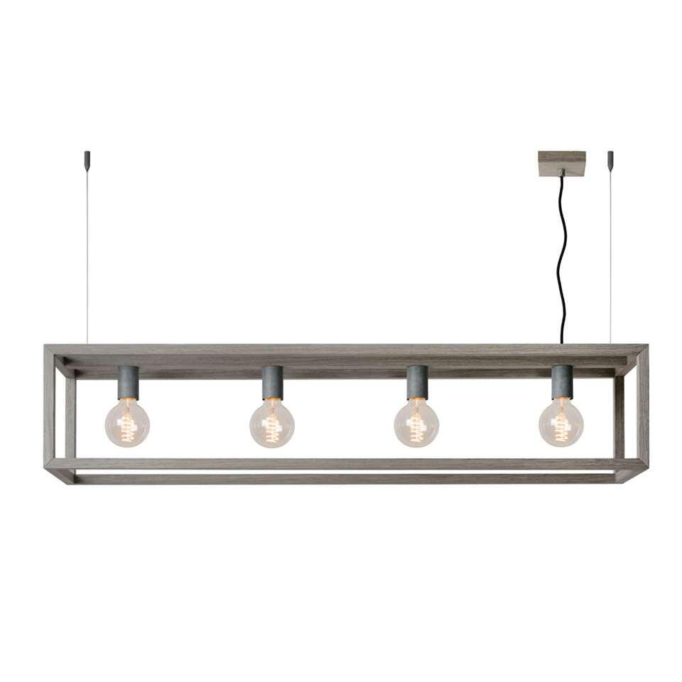 Lucide hanglamp Oris - grijs - Leen Bakker