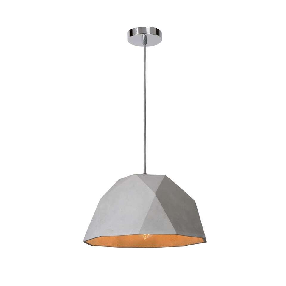 Lucide hanglamp Solo - beton - Leen Bakker