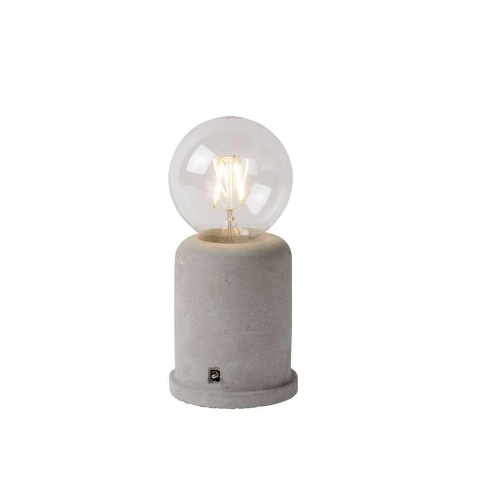 Lucide tafellamp Mable - taupe - Leen Bakker