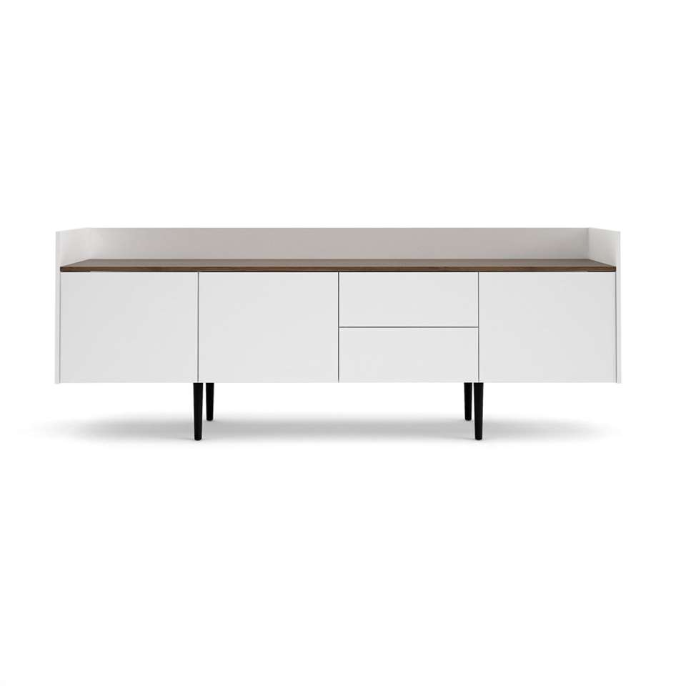 Dressoir Yding - blanc - 40,5x195,5x73,2 cm