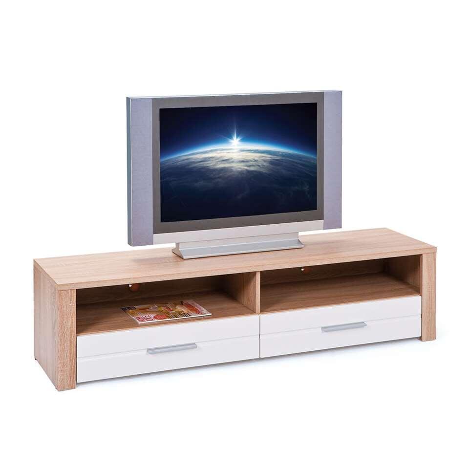 Tv Wandmeubel Bruin.Tv Meubel Absoluto Bruin 37x150x40 Cm