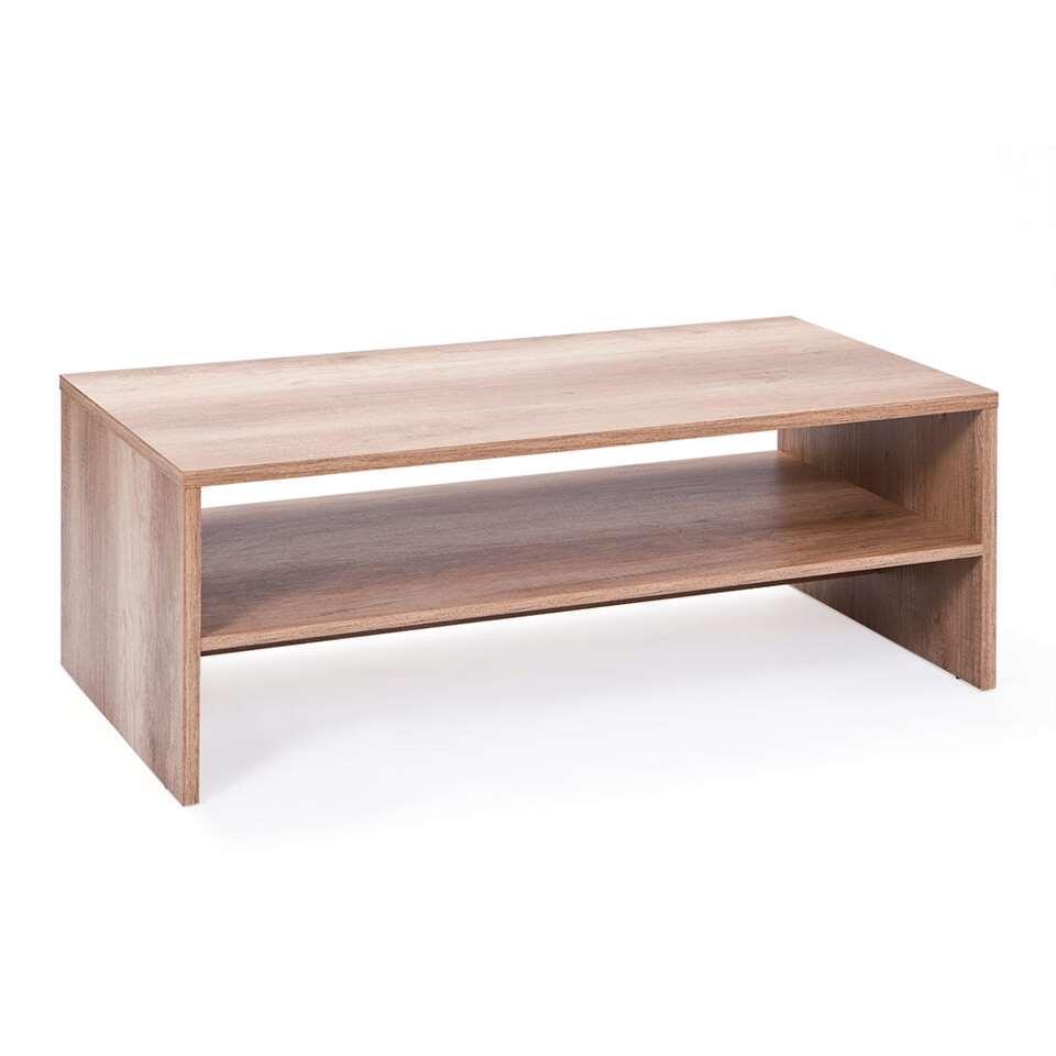 Salontafel Absoluto - bruin - 42x115x60 cm - Leen Bakker