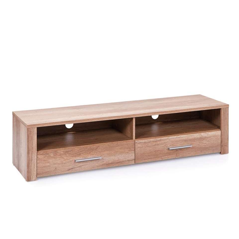 TV-meubel Absoluto 1 – bruin – 37x150x40 cm – Leen Bakker