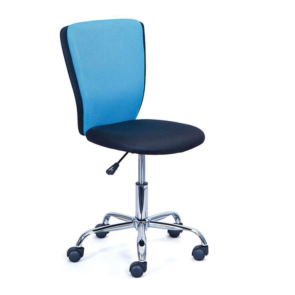 Bureaustoel Tunja - blauw - Leen Bakker