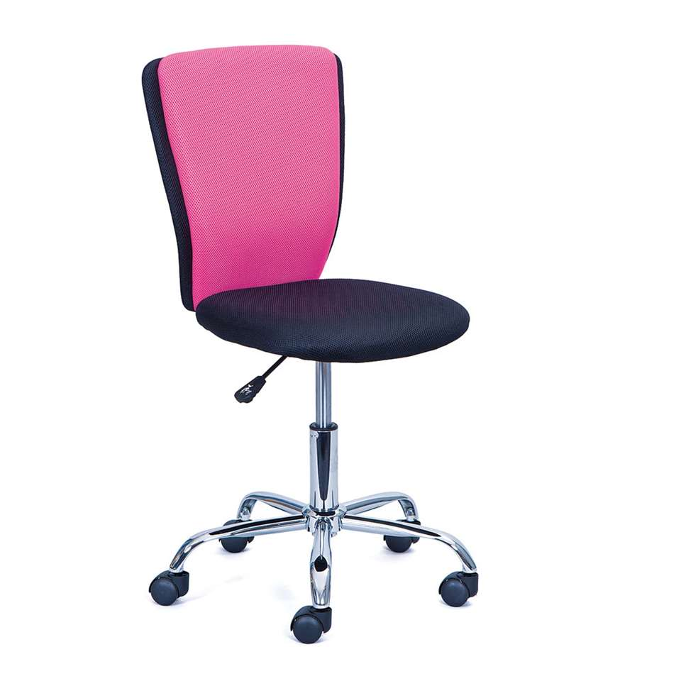 Bureaustoel Tunja - roze - Leen Bakker