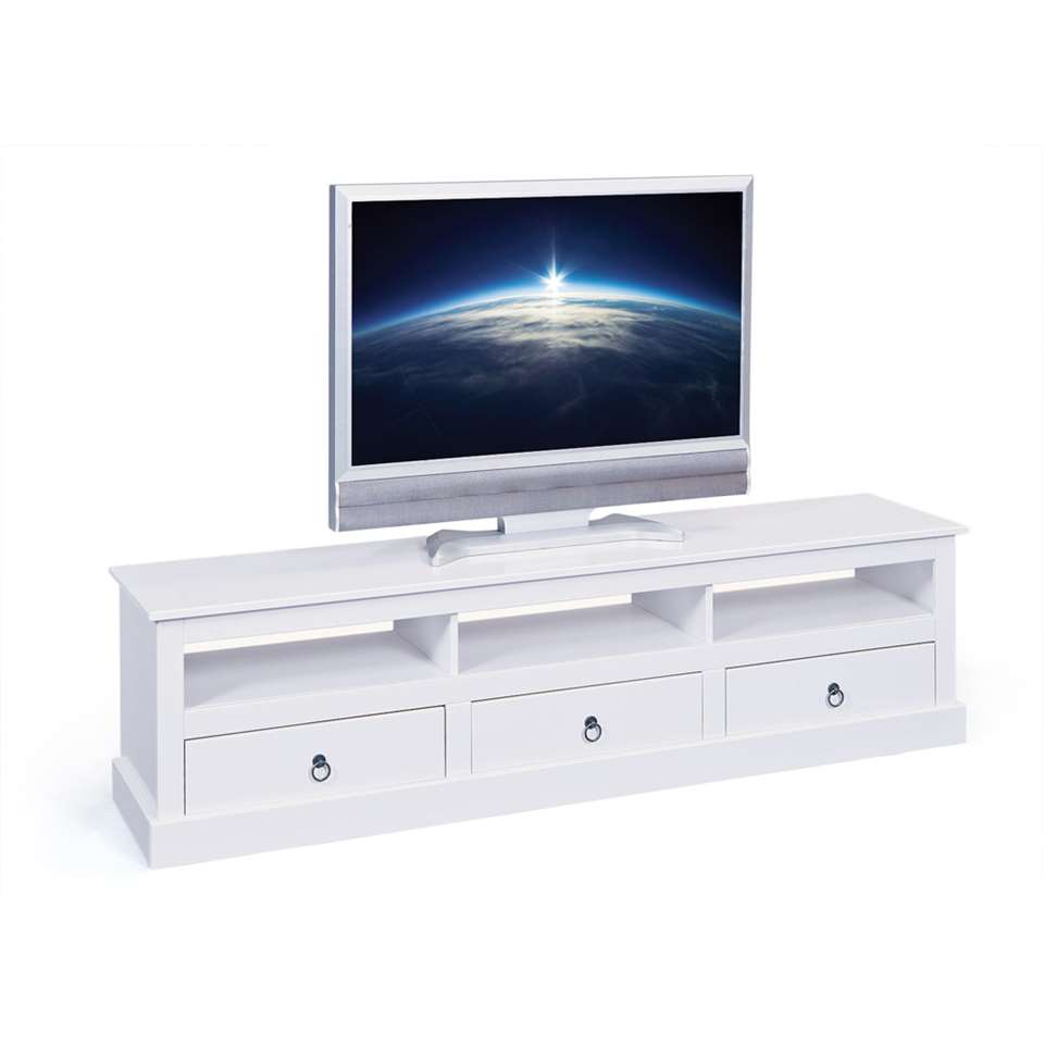 Tv Meubel Provence Wit 45x173x39 Cm