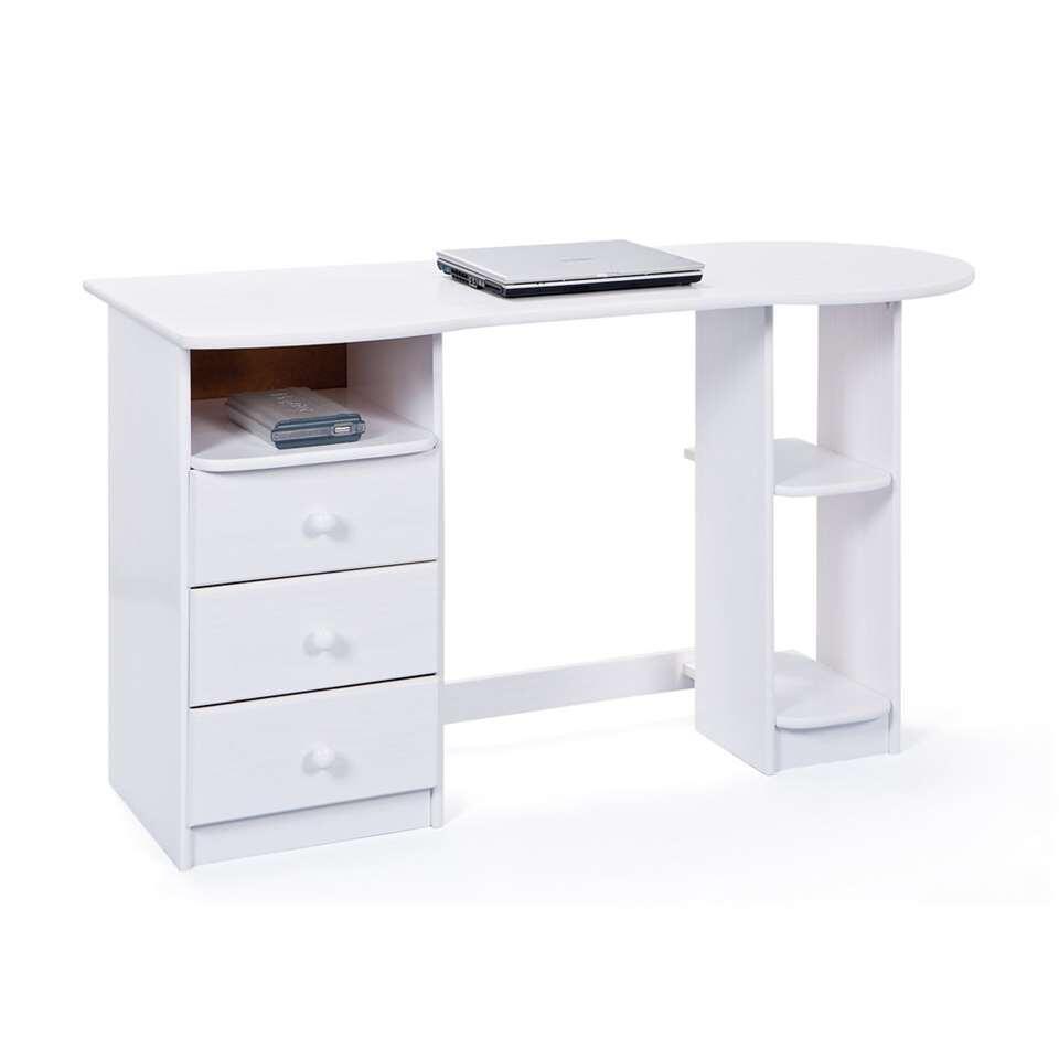 Bureau Touchround is een klassieke werkplaats met twee functionaliteiten.  Het bureau kan worden gebruikt voor studiedoeleinden zoals het maken van huiswerk of als PC- meubel.