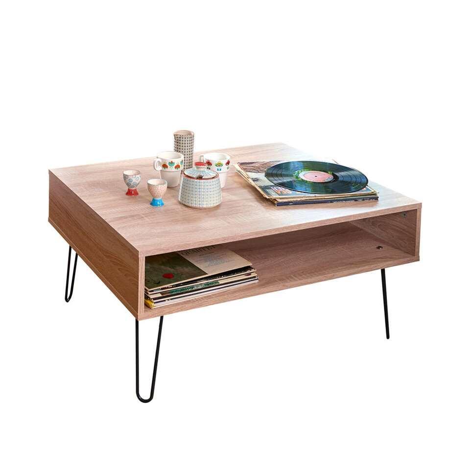 Symbiosis salontafel Lardal - eikenkleur - 42,2x89x67 cm - Leen Bakker