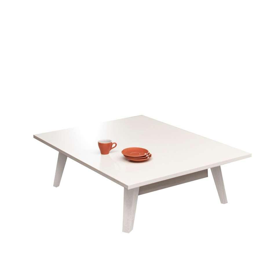 Symbiosis salontafel Heidal - wit - 28,2x89x67 cm - Leen Bakker