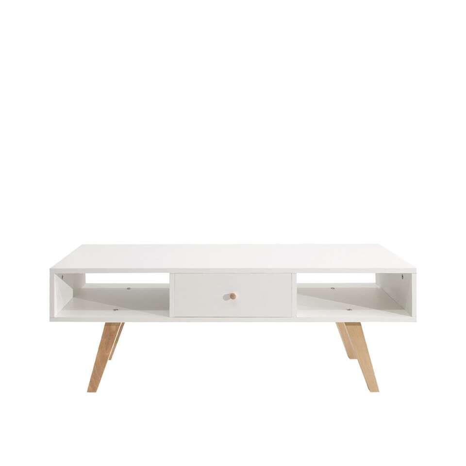Symbiosis TV-meubel Sindal - wit - 42,4x117x40 cm - Leen Bakker