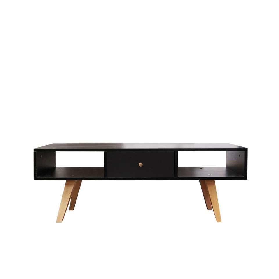Symbiosis TV-meubel Sindal - zwart - 42,4x117x40 cm - Leen Bakker