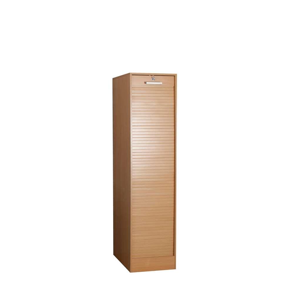Archiefkast Rodberg is een moderne en functionele archiefkast met een hoogte van 170 cm. Deze kast biedt de mogelijkheid tot het opbergen van dossiers (liggend/hangend) en is afsluitbaar.