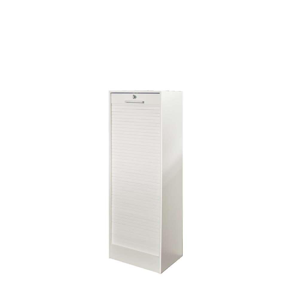 Archiefkast Rodberg is een moderne en functionele archiefkast met een hoogte van 138 cm.  In deze kast kun je dossiers liggend en hangend opbergen. Bovendien is deze kast afsluitbaar