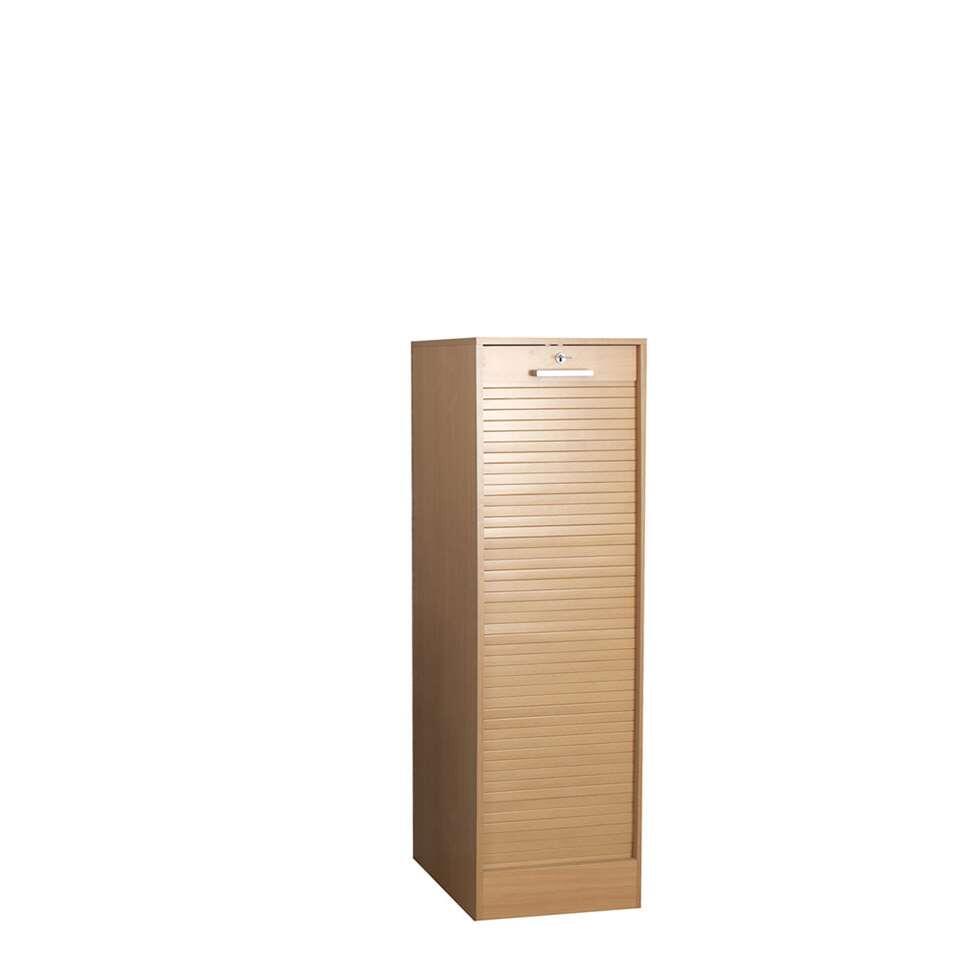 Archiefkast Rodberg is een moderne en functionele archiefkast met een hoogte van 138 cm. Deze kast biedt de mogelijkheid tot het opbergen van dossiers (liggend/hangend) en is afsluitbaar.