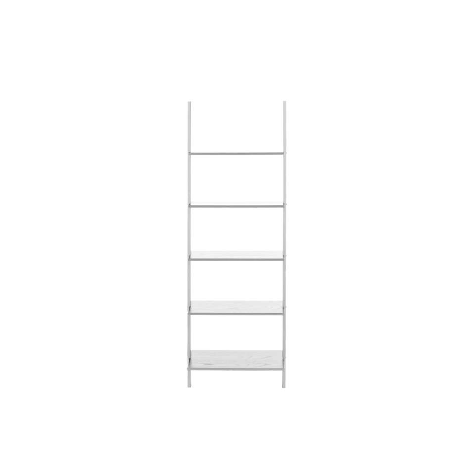Boekenkast Gorvik - wit - 183 cm - Leen Bakker