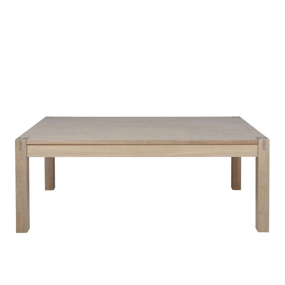 Salontafel Ferre - eikenkleur - 50x135x75 cm - Leen Bakker