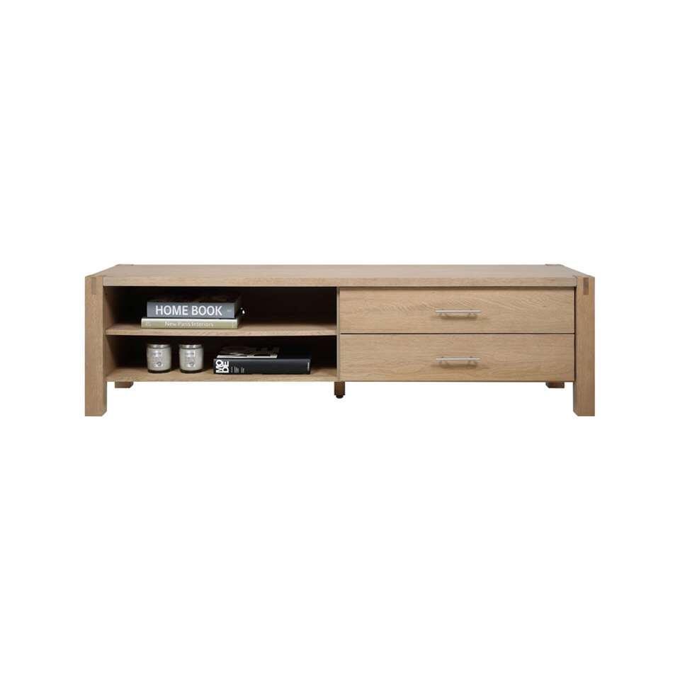 TV-meubel Ferre - eikenkleur - 46,6x170,4x47 cm - Leen Bakker