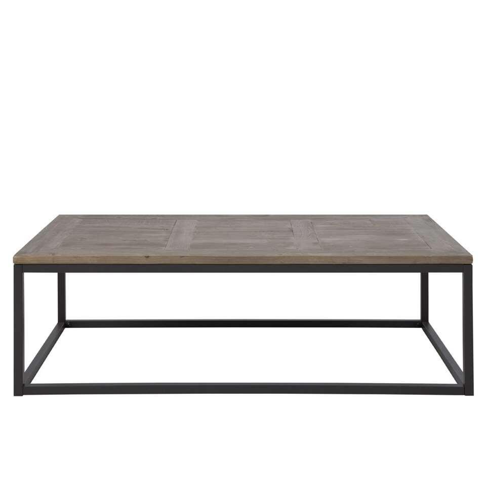 Salontafel Lasse - bruin - 40x130x70 cm - Leen Bakker