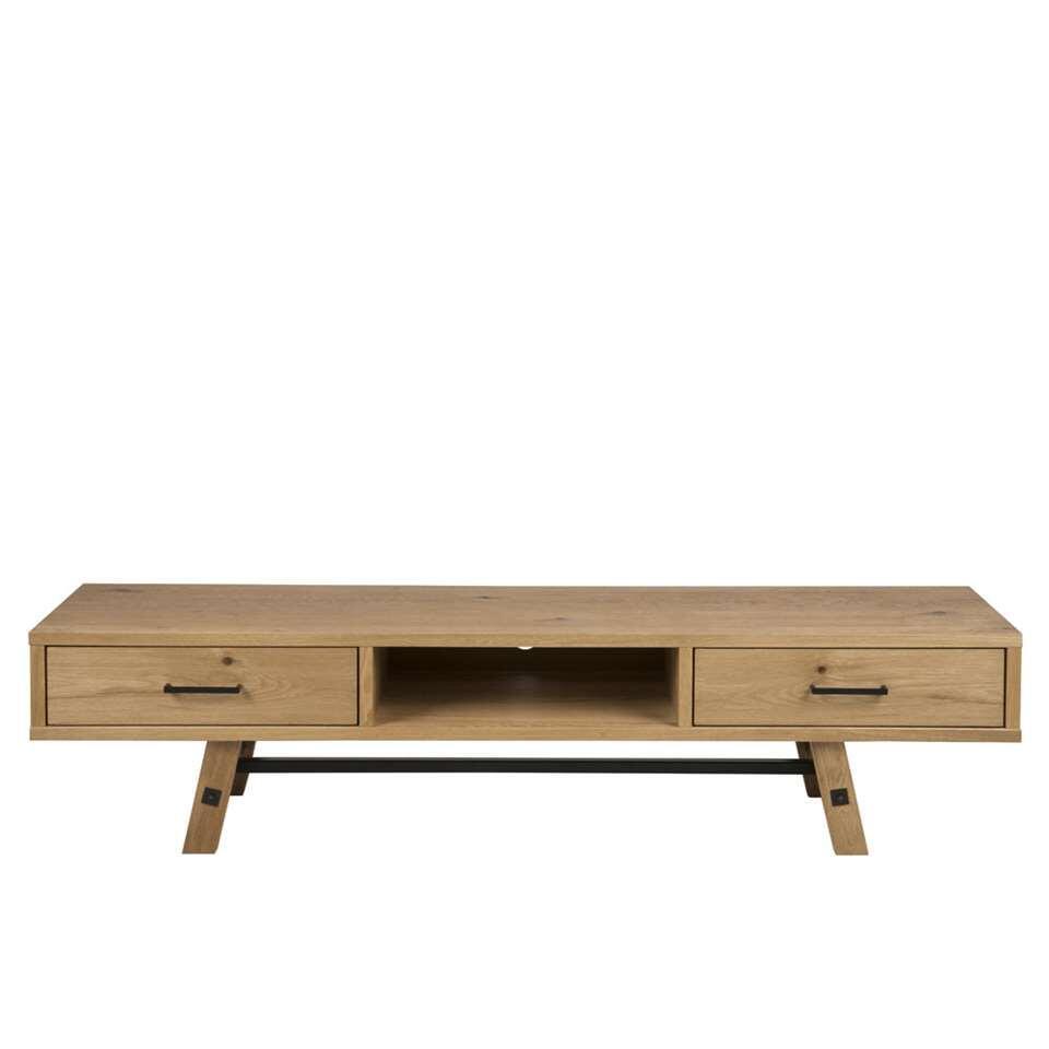 TV-meubel Norsholm - eikenkleur - 42x180x45 cm - Leen Bakker