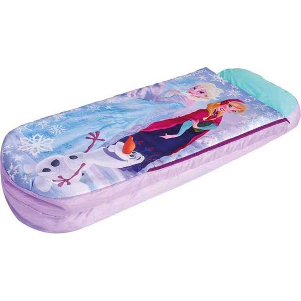 Disney Frozen luchtbed - roze - 150x62x20 cm - Leen Bakker
