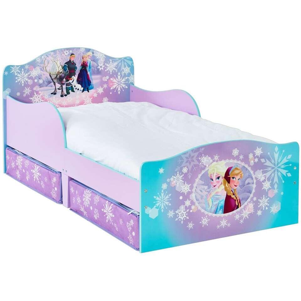 Disney Frozen bed - paars - 145x77x59 cm - Leen Bakker