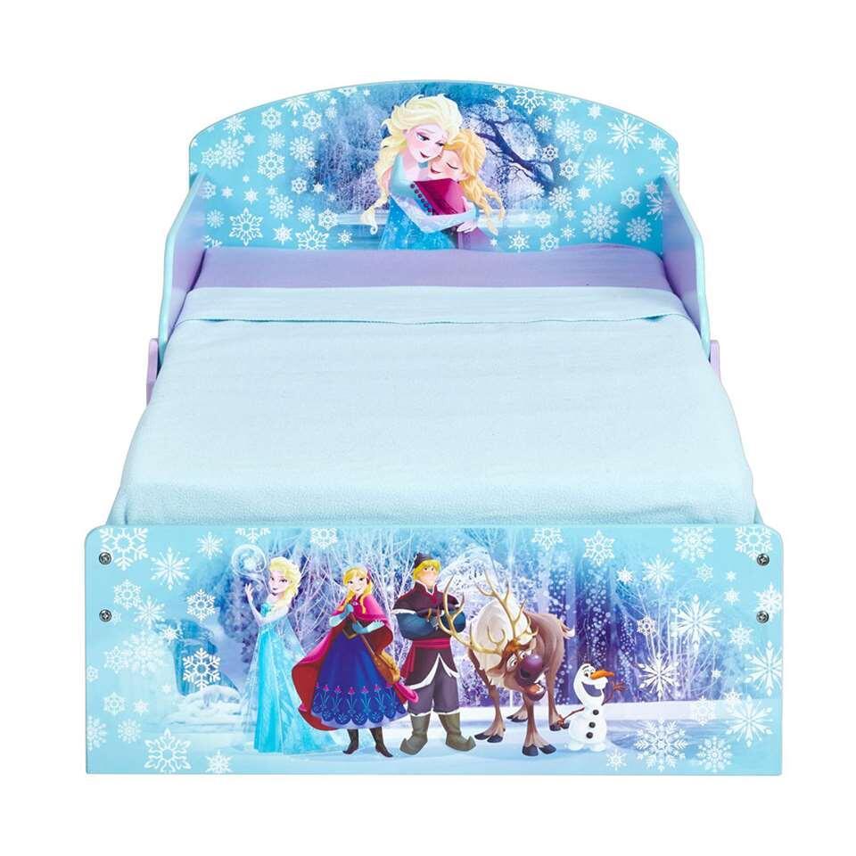 Disney Frozen bed - paars/blauw - 142x77x59 cm - Leen Bakker