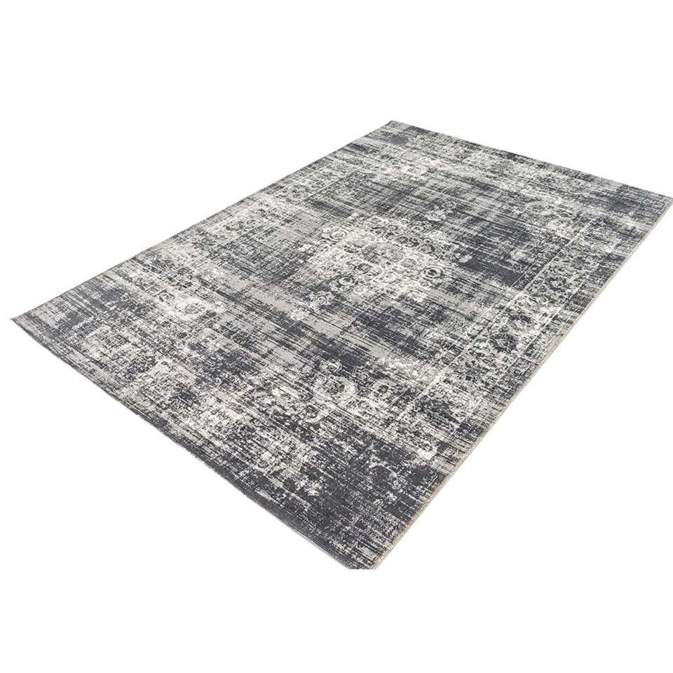 Home Living vloerkleed Classic - grijs - 230x330 cm - Leen Bakker