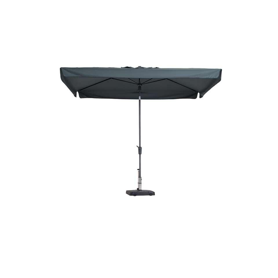 Madison parasol Delos luxe – grijs – 200×300 cm – Leen Bakker
