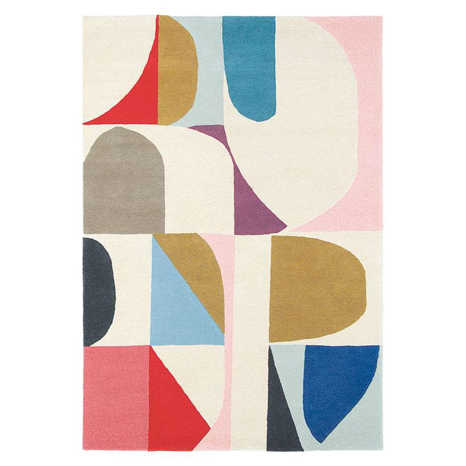 Brink & Campman vloerkleed 88605 Estella Harmony - multikleur - 160x230 cm - Leen Bakker