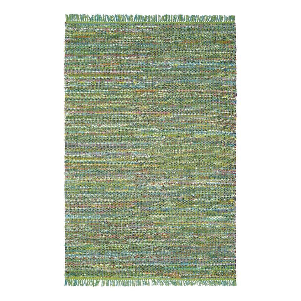 Brink & Campman vloerkleed 79407 Playa - groen - 160x230 cm - Leen Bakker